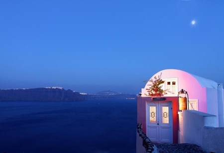 Santorini - aegean sea, oia, santorini, greece