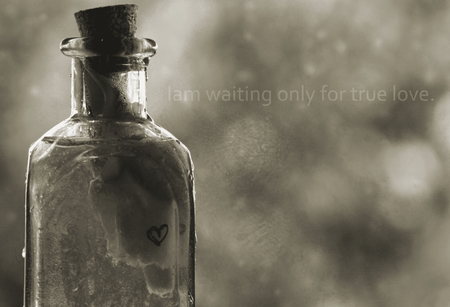 waiting - photography, romantic, love, black, white, abstract