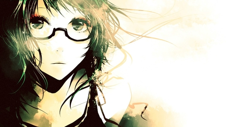 Mysterious Girl Other Anime Background Wallpapers On Desktop
