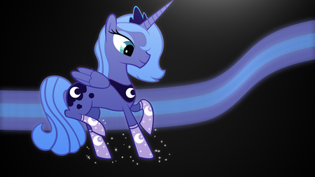 Luna Moon - pony, pretty, lunamoon, friendshipismagic
