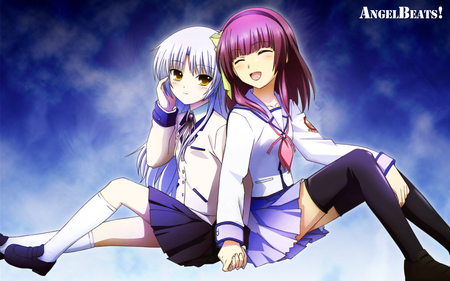 Yuri & Kanade (Angel Beats!) - Other & Anime Background