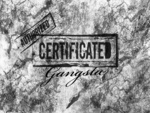 authorized certificated gangsta