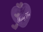purple heart in missing you