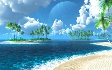PEACEFUL TROPICAL ISLAND
