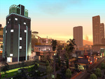 Los Santos, view at Vinewood sign