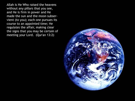 Space - quran, islam, space, truth