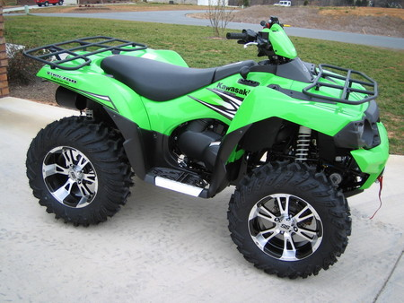 kawasaki brute force - brute force, atv, kawasaki, very powerfull
