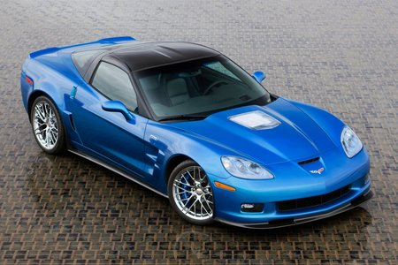 chevorlet corvette zr1 - chevy, corvette zr1, blue, fast