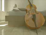 Relaxing Cello in White Room