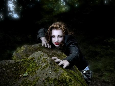gft55 - vampire, s, fantasy, female