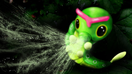 Caterpie used String Shot