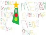 Merry, Christmas, To, All, My, Friends, On, Nexus
