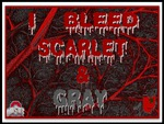I BLEED SCARLET & GRAY