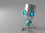 gir(in robot form)