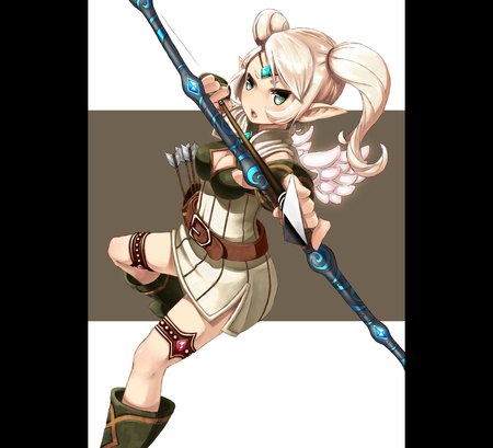 Dragon Nest - female, video game, game, dragon, video, cute, dragon nest, fantasy, nest, anime, archer