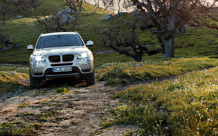 BMW X3 - luxury car, silver, bmw, the bmw