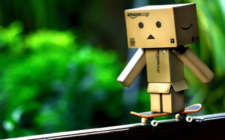 Danbo - danbo, skateboards, amazon, boxman