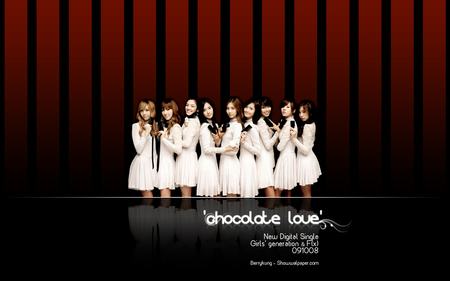 Girls' Generation Chocolate Love - girls generation, snsd, chocolate love, kpop
