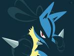 Lucario the Aura Pokemon
