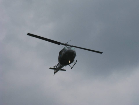 Helo in Flight - copter, chopper, helicopter, flight