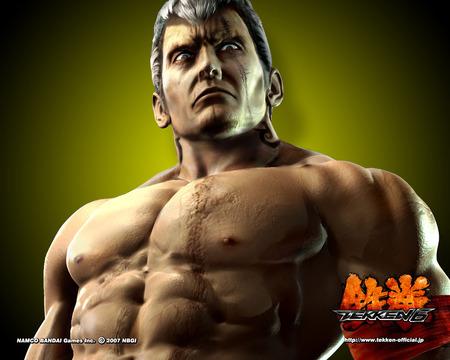 Bryan Fury Tekken Video Games Background Wallpapers On
