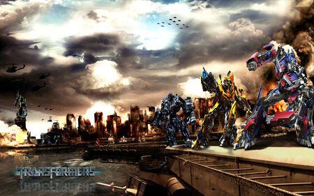 Transformers Autobot Vs Decepticons - cg, transformers, autobot, ervin, abstract, decepticons