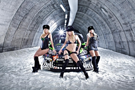 Monster-Energy-Ford-Fiesta - babes, models, ford, energy drink