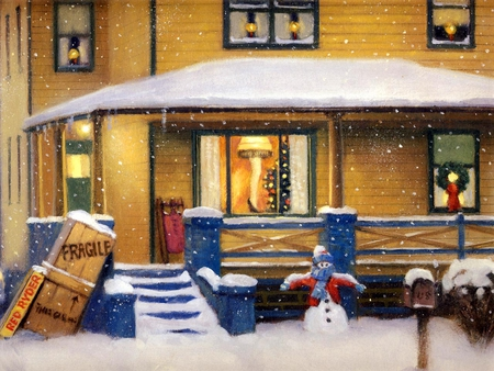 A Christmas Story - Winter & Nature Background Wallpapers on ...