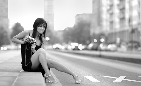 Hunting A Photograph Models Female People Background Wallpapers