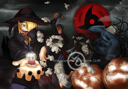 Comments on akatsuki halloween - Naruto Wallpaper ID 874259