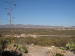 Overlooking The Arizona Desert From Boothill Cemetery