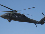 Blackhawk in Flight