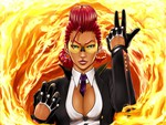 Street fighter IV: Crimson Viper Artwork