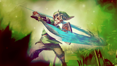 The Legend of Zelda Skyward Sword - nintendo, link, zelda, skyward sword, wii, the legend of zelda