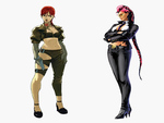 Crimson Viper and Sharon