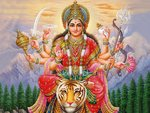 Hindu Goddess Mata (Durga) My Saviour and Lord.