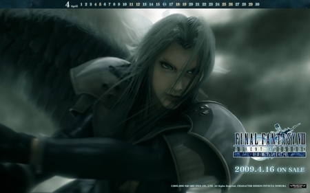 final fantasy - fight, advent children, final fantasy, anime