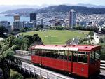 WELLINGTON CITY CABLE CAR. NZ