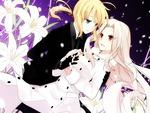 Saber & Irisviel