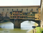 old bridge in Florence, Italy