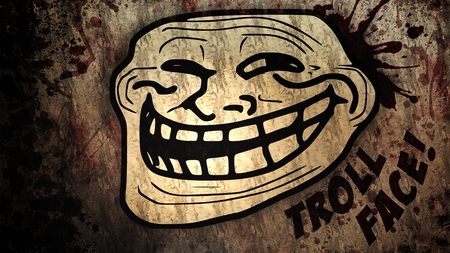Troll Face - troll, funny, troll face, face