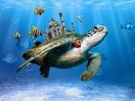 Underwater Taj