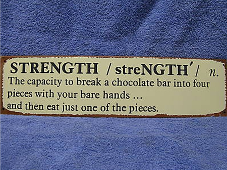 Talana's Definition of Strength