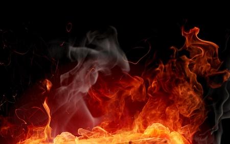 Fire Spark Fantasy Art