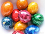 SHINNY EASTER EGGS