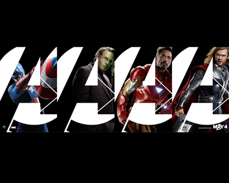 the avengers - iron man, thor, hulk, captain america, 2012