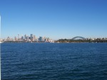 Sydney From The Sea