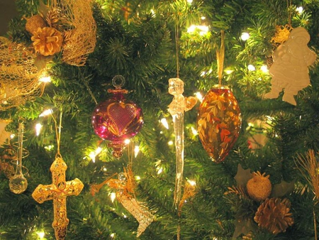 Christmas Tree - ornaments, tree, x-mas, lights
