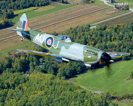 Supermarine Spitfire - war, raf, ww2, fighter, supermarine, spitfire