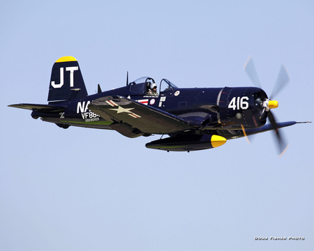 Vought F4U Corsair - war, ww2, fighter, corsair, vought, american, navy